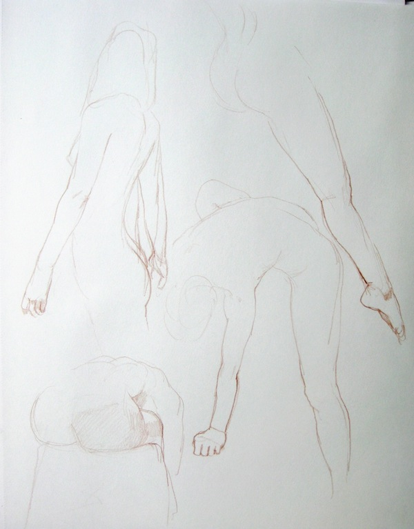 Life drawing, École d'art Pointe-Saint-Charles Art School