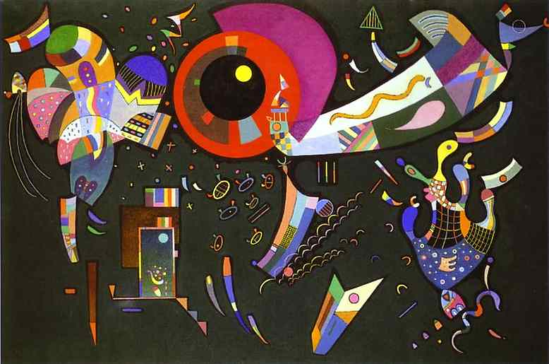 Around The Circle 1940 Oil And Enamel On Canvas