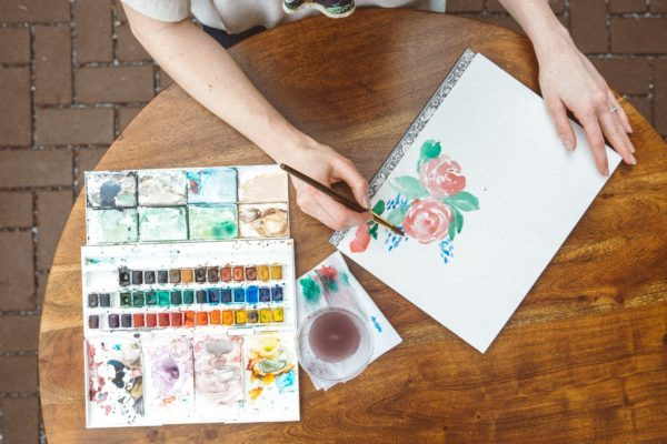 Watercolor Art Camp Summer